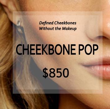 Cheekbone pop